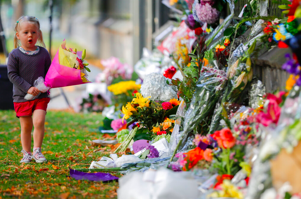The death toll in the New Zealand mosque attacks has risen (photo by AP)