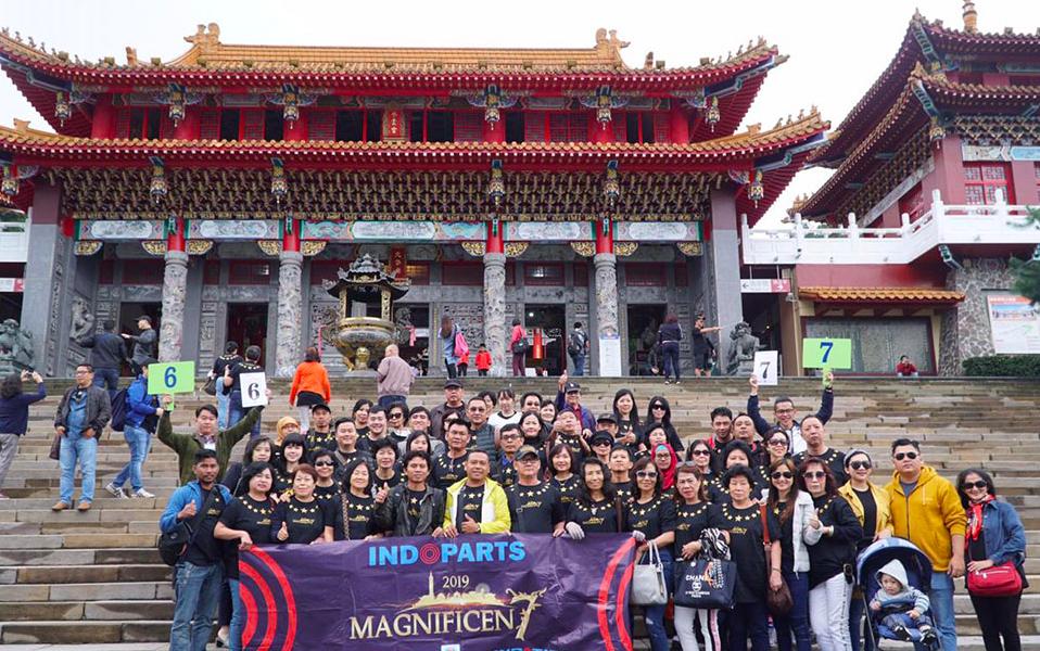 國外企業旅遊團體兩團近1000人到訪臺灣觀光(圖/觀光局)