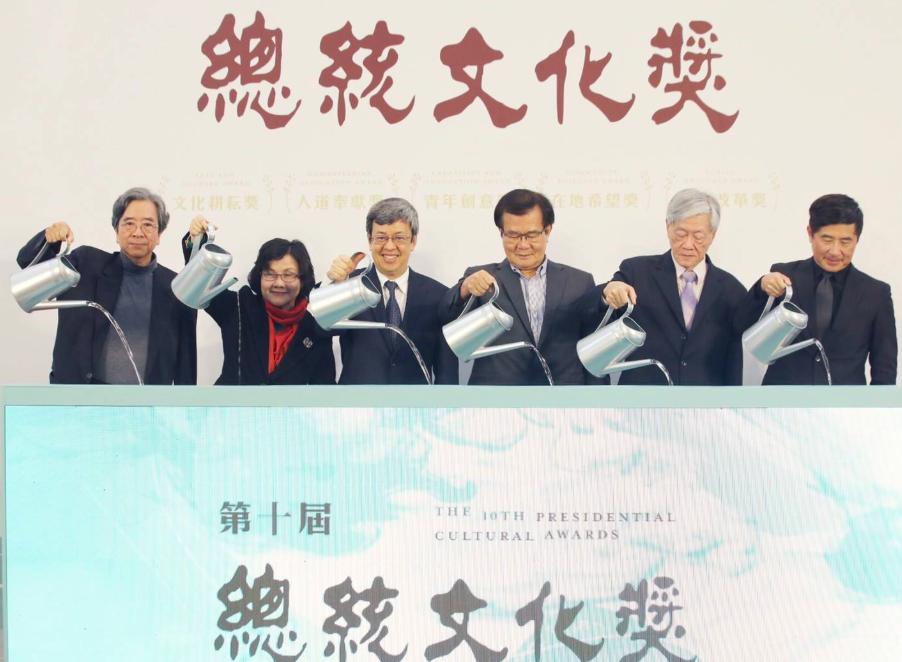 總統文化獎獎金100萬,開放徵件自5月17日止(圖/文總)