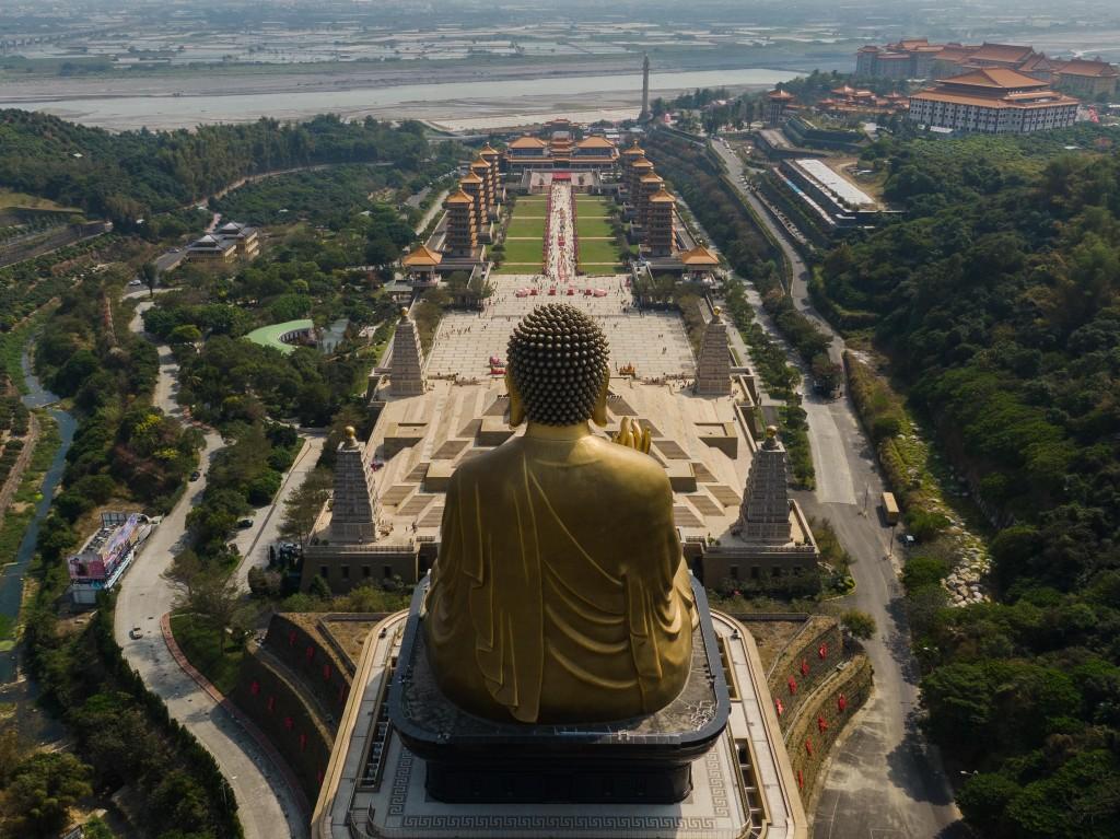 Fo GuangBig Buddha. (Photo by Brian Dang)