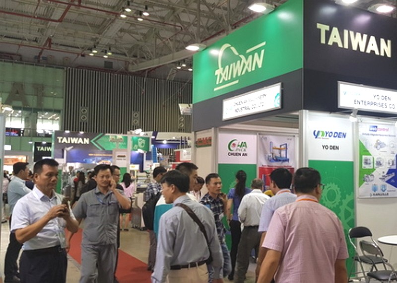Vietnam processing and packaging trade show shines spotlight on Taiwan (Photo/TAITRA)