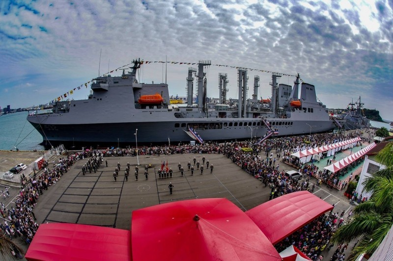 Dunmu Fleet Flagship (Photo from Taiwan Navy)