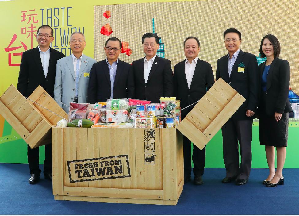 台灣食品節在新加坡登場(圖/中央社)