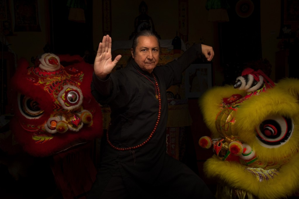 Sifu Steven Baugh. (Photo from the Lohan School of Shaolin)