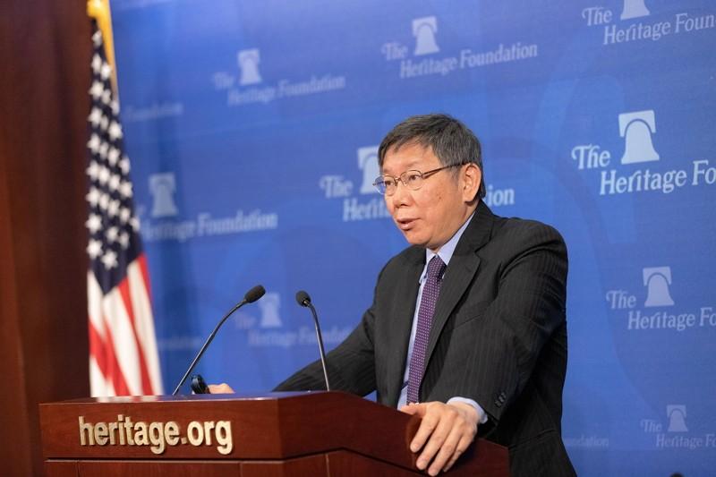 Taipei Mayor Ko Wen-je (Photo/Taipei City Government)