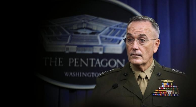 Chairman of Joint Chiefs of Staff, Gen. Dunford
