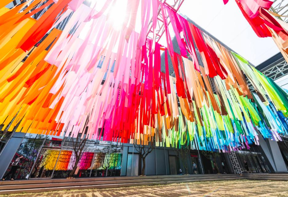 法國Emmanuelle Moureaux藝術家作品「一百種顏色」(圖/富邦藝術基金會)
