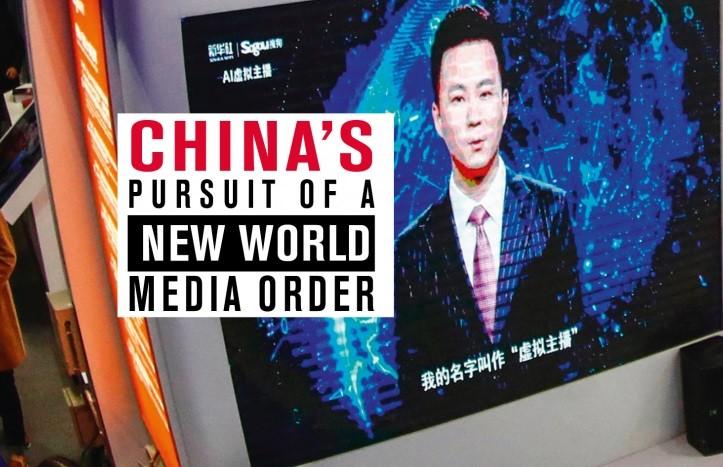 無國界記者組織指控中國違反新聞自由。 (無國界記者組織)