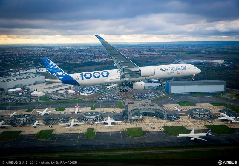Airbus350 (Photo/FB Airbus)