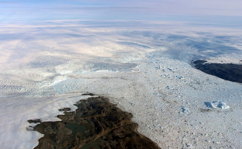 格陵蘭雅各布港冰川(圖/美聯社)