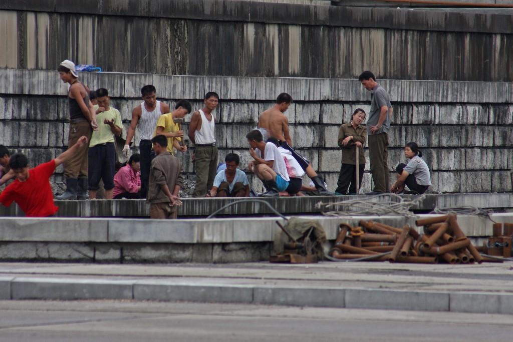 中俄共遣返6萬名北韓海外工作者。(flickr Roman Harak)