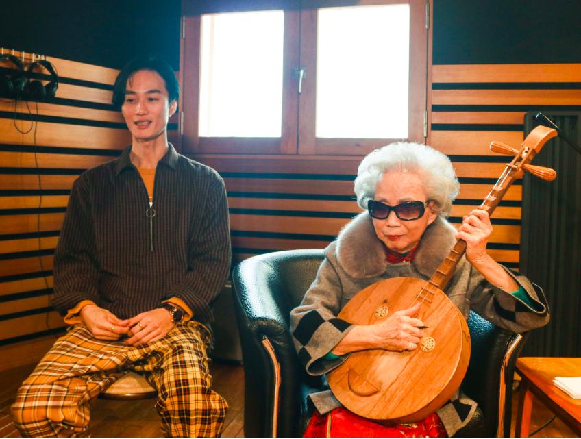 台灣「國寶級」說唱藝術家楊秀卿,將與嘻哈歌手李英宏共同演出(圖/文總)