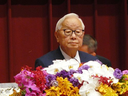 TSMC founder Morris Chang.