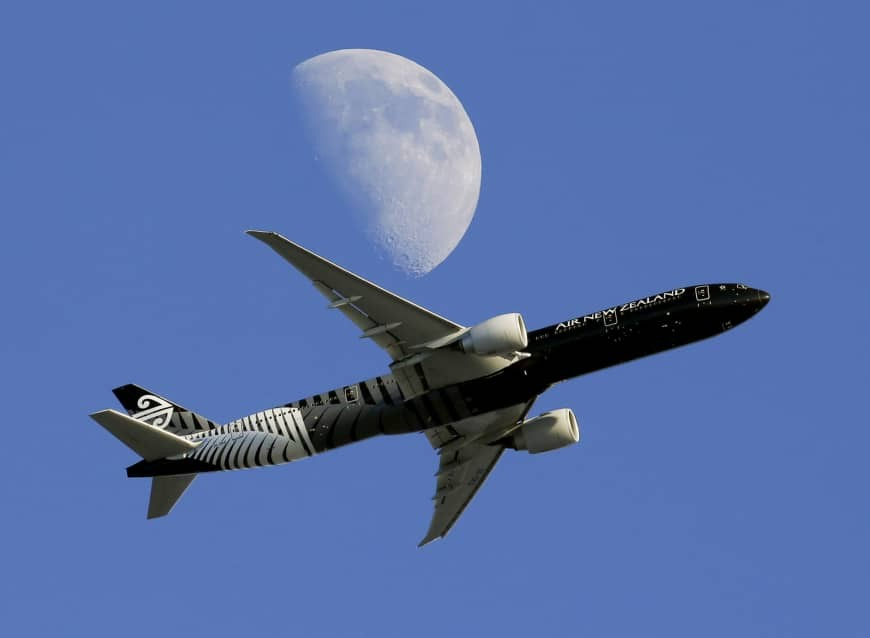 Air New Zealand to add flights to Taiwan.