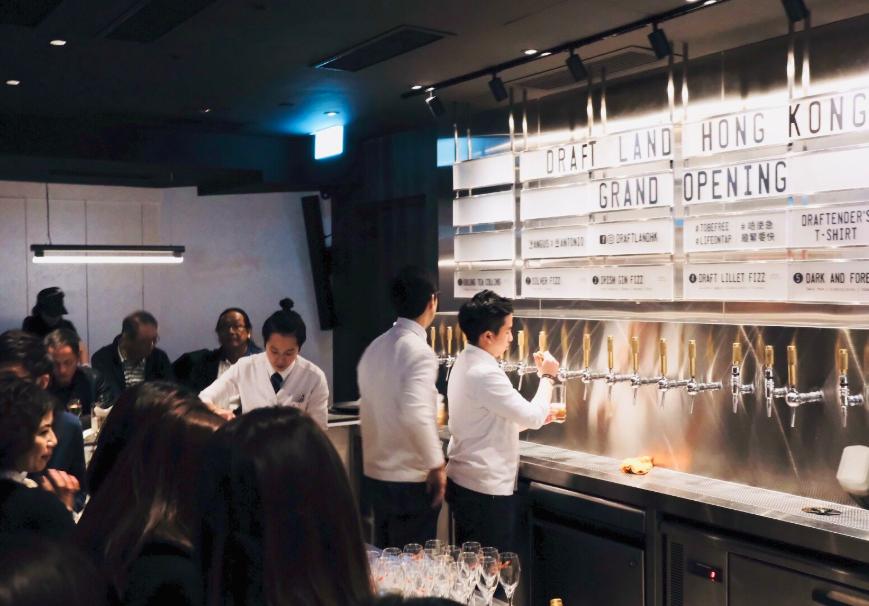 台首間汲取式雞尾酒吧 Draft Land 進軍香港(圖/Draft Land HK)