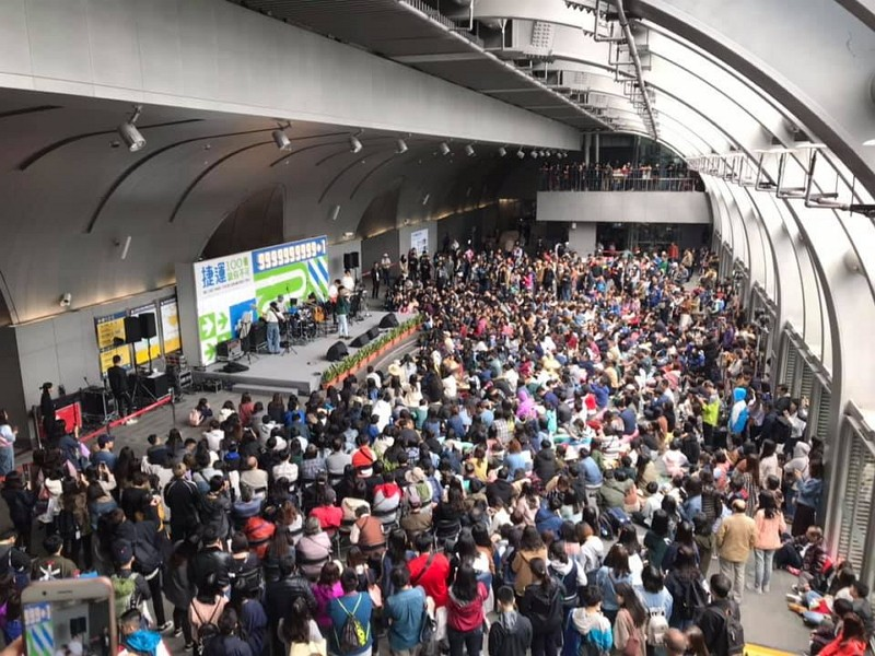 台北捷運迎來第100億旅客(圖/北捷臉書)