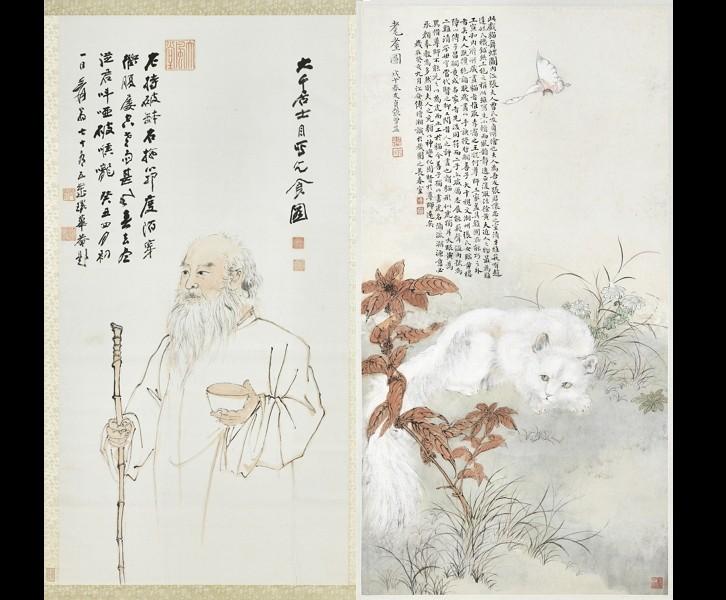 「巨匠的剪影—張大千120歲紀念大展」(圖/故宮)