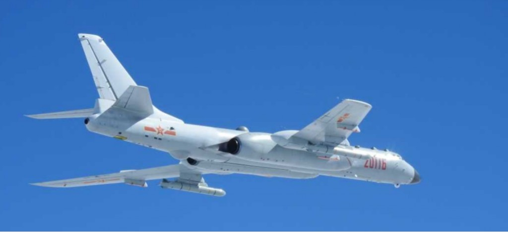 H-6K bomber photo (from JSDF)