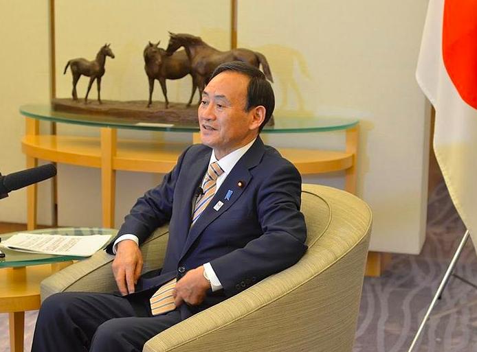 菅義偉盼兩岸和平對話,外交部感謝關切(圖/維基百科)