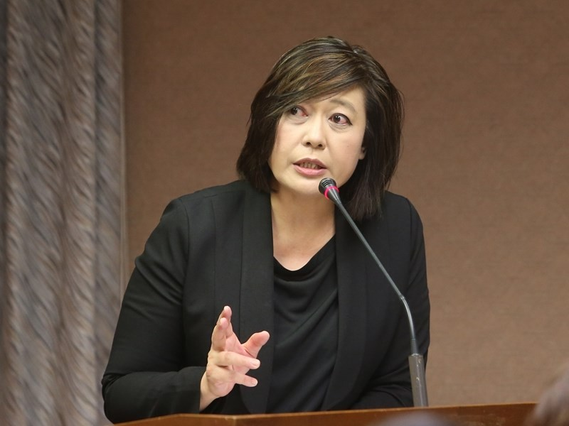 National Communications Commission Chairwoman Nicole Chan.
