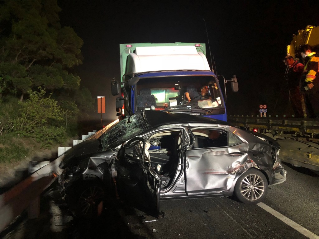 Two killed in tragic car accident, in western    | Taiwan News