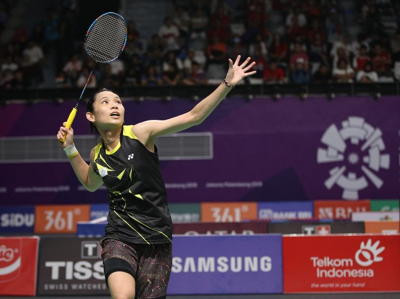 Tai Tzu-ying at last year's Asian Games.