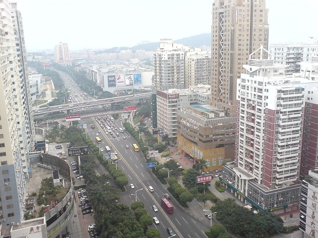 A view of Xiamen (photo by quexinhua)