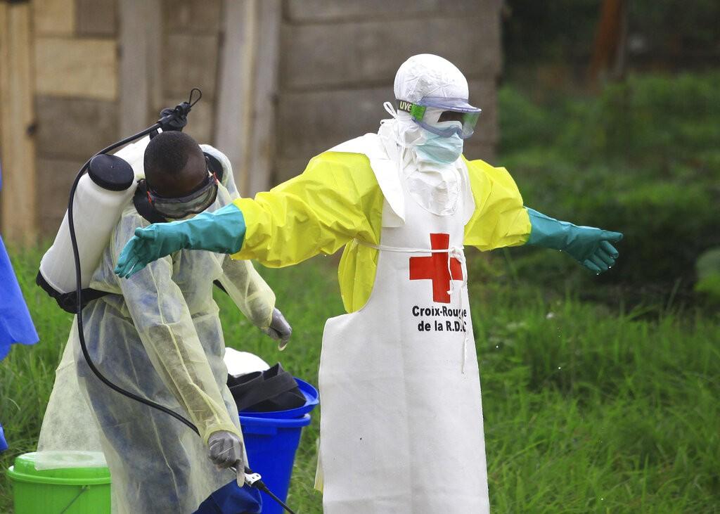 根據剛果民主共和國衛生部的統計,過去3週該國因伊波拉病毒疫情已造成約100人死亡。(圖/美聯社)
