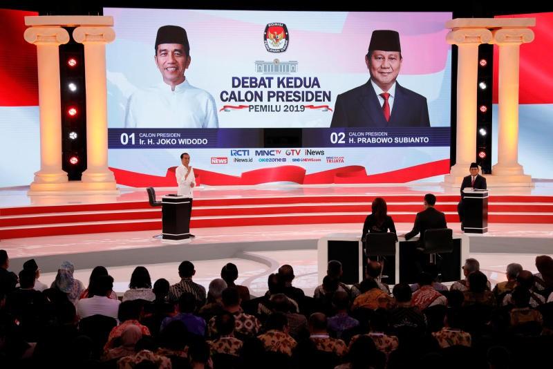 Indonesian presidential candidates debate