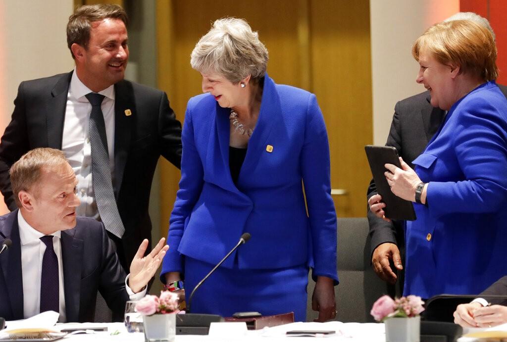 歐盟同意英國脫歐大限延至10/31(美聯社)