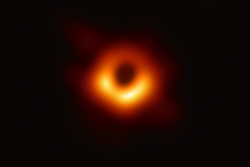 First ever black hole images in the final stage of 'printing — CAS