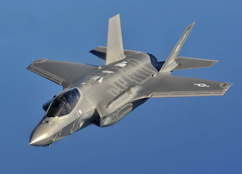 File photo of U.S. Air Force F-35A