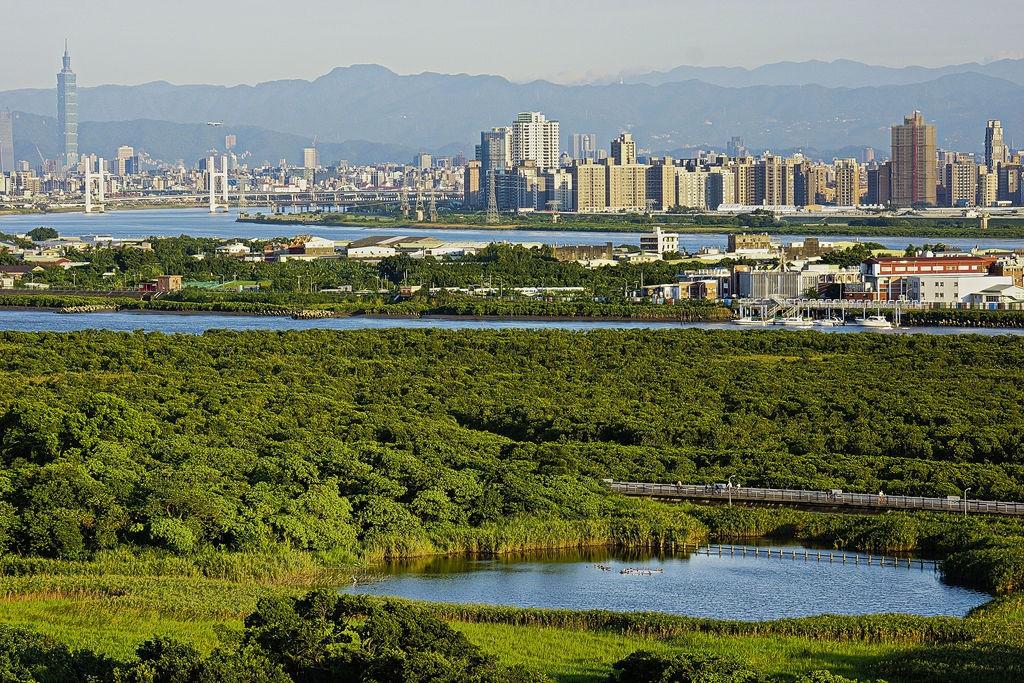 關渡自然公園。(照片轉載自臺北市政府觀光傳播局之台北旅遊網網站)