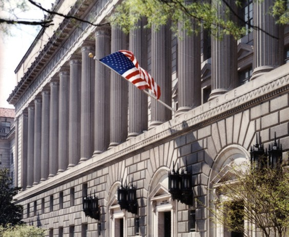 US Department of Commerce building