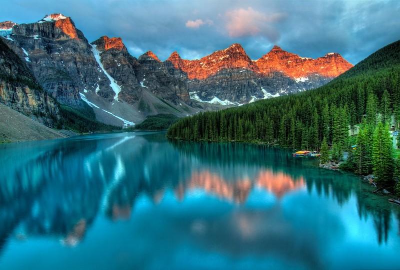 加拿大美景(圖/pixabay)