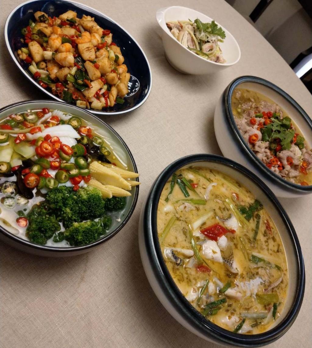 台灣第一品牌的川菜連鎖餐廳聯手中國最大的藤椒油生產商,合作打造「藤椒風味菜」。(圖/台灣英文新聞。)