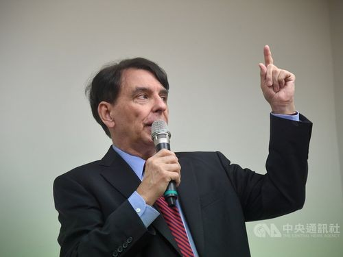 William Stanton, former director of the American Institute in Taiwan's Taipei office.
