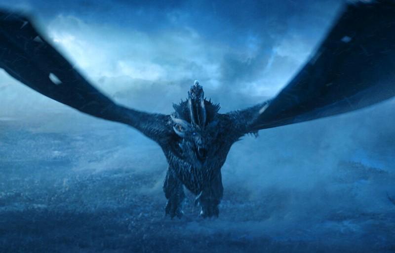 """Vladimir Furdik as The Night King on the season finale of """"Game of Thrones."""" (HBO via AP)"""