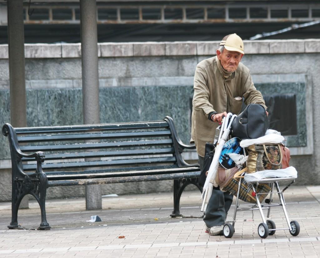 日本高齡化社會危機重重。(Wikimedia Commons)