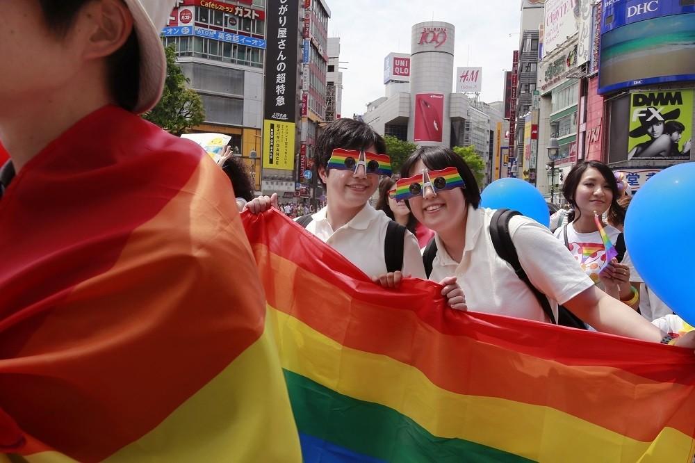 日本尚未合法化同姓婚姻。(美聯社)