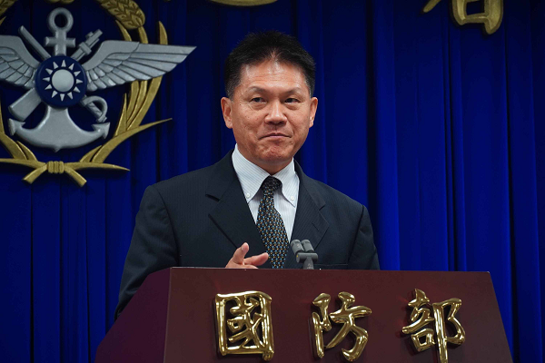 MND Spokesperson Han Gangming, April 16