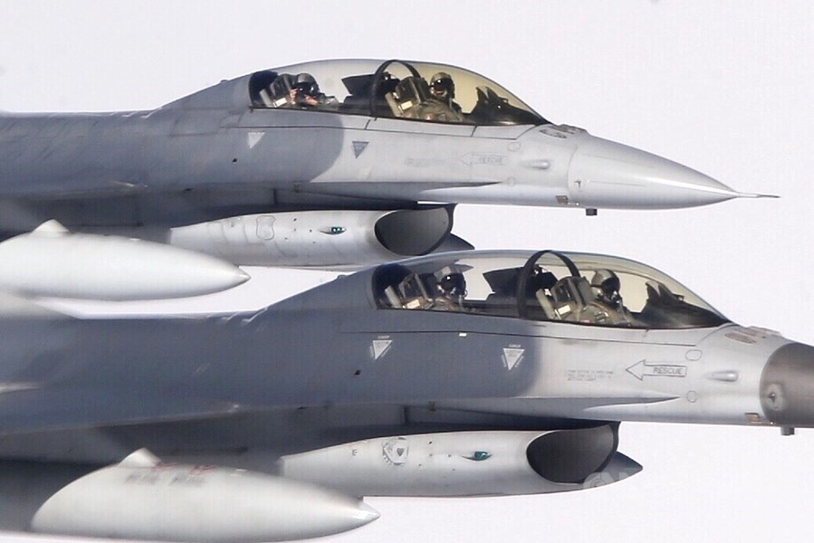 US approves $500 million in support for Taiwan's F-16s
