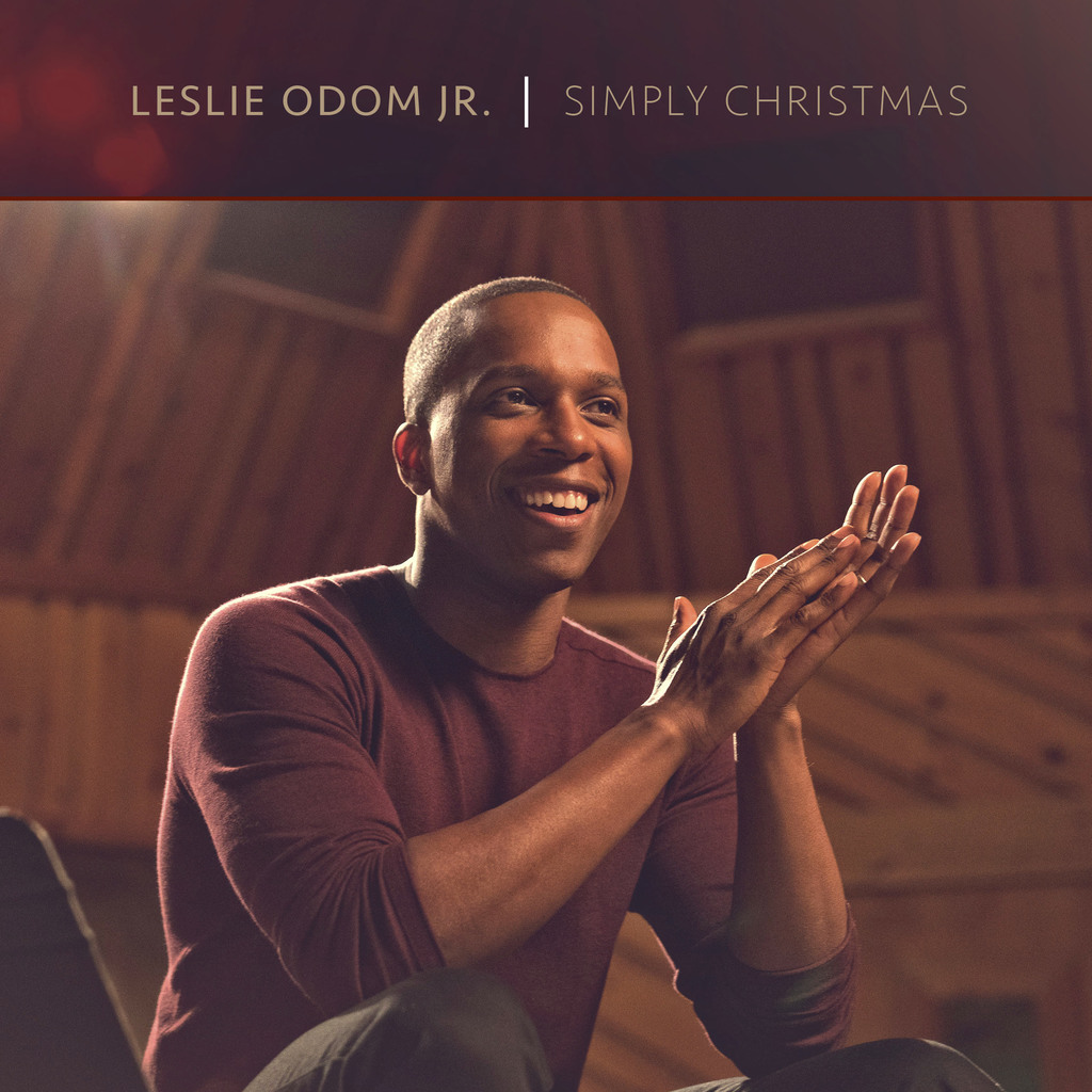 "This CD cover image released by S-Curve Records shows ""Simply Christmas,"" a holiday release by Leslie Odom Jr., a former cast member  o..."