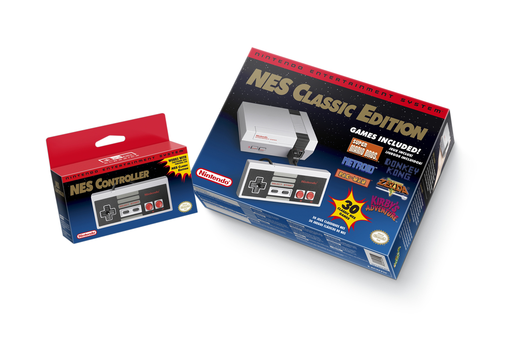 FILE - This file image provided by Nintendo shows the Nintendo Entertainment System Classic Edition. The NES Classic Edition includes a...
