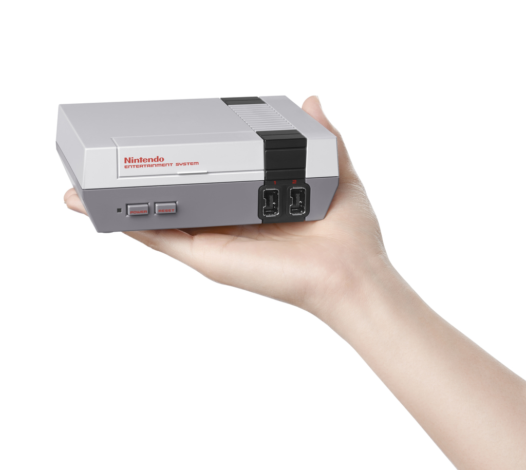 FILE - This file image provided by Nintendo shows the Nintendo Entertainment System Classic Edition.  The NES Classic Edition includes ...