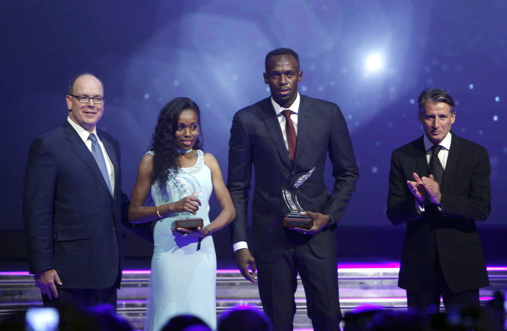 Bolt is IAAF athlete of year; Ayana wins women's award