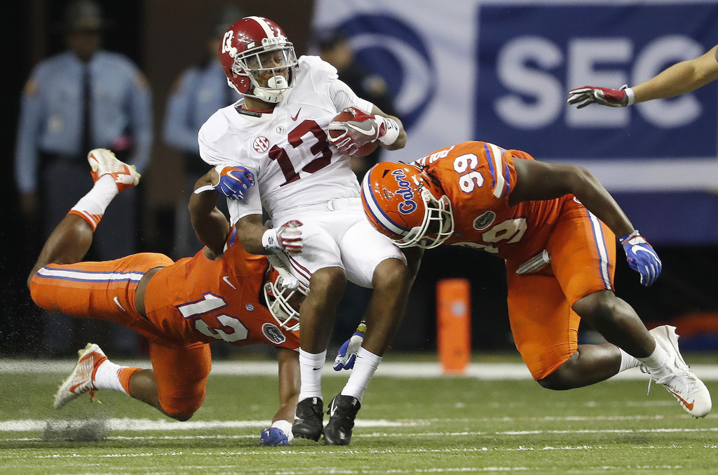 Tide rolls over Gators in SEC Championship game