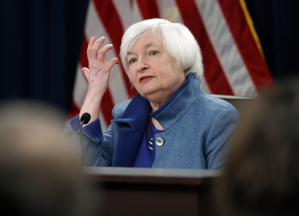 U.S. Treasury Secretary nominee Janet Yellen