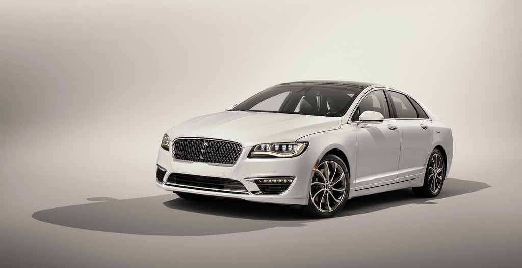 This undated photo provided by the Ford Motor Company shows the 2017 Lincoln MKZ. For 2017, Lincoln continues to improve its mid-size M...