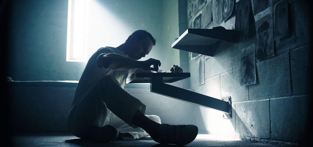 "This image released by 20th Century Fox shows Michael Fassbender as Callum Lynch in a scene from ""Assassin's Creed.""  (20th Century Fox..."